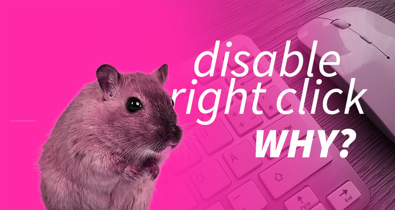Disable right click with javascript